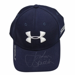 Lot 18 - Personal Jordan Spieth Under Armour Hat Signed w/Full Signature By Jordan