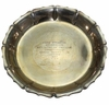 Lot 18 - Frank Stranahan's 1952 50th Western Amateur Sterling Championship Tray - 4th Title
