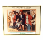 Lot 19 - Signed Seldom Seen photo 1973 Ryder Cup Teammates Celebrating in Their Underwear-Nicklaus, Palmer Etc. JSA COA