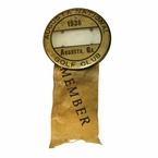 Lot 2 - 1936 Augusta National Member Masters Badge and Ribbon