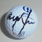 LOT #205: Graeme McDowell Signed 2015 Open Championship Logo Golf Ball - St. Andrews