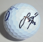 LOT #206: Justin Rose Signed 2015 Open Championship Logo Golf Ball - St. Andrews