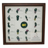 Lot 21 - 2014 Masters Limited Edition (#93/150) Framed Pin Set-Sold Out Early During Masters Week