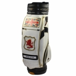 Lot 21 - Peter Butler's 1973 Official Ryder Cup Golf Bag-Scores First Hole-In-One In Cup Matches!