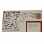 Lot 21 - Bobby Jones Signed 1933 Augusta National GC First Day Cover - Rare Signed!