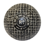 Lot 21 - Vintage 'Snowdrop Rd.' Gutta Golf Ball - Circa 1890's
