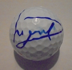 LOT #219: Luke Donald Signed 2015 Open Championship Logo Golf Ball - St. Andrews
