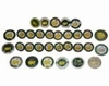 Lot 22 - Lot of 30 Masters Dated Ball Markers 1984-2014