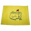 Lot 24 - Arnold Palmer Signed Undated Masters Flag - JSA COA