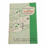 Lot 24 - 1954 Masters Tournament Spectator Guide - Sam Snead 3rd Masters Victory