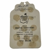 Lot 25 - 1947 Masters 4th Rd Ticket Signed by Runner Up Frank Stranahan-68 Low Round-283 Best Ever by Amateur