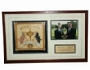 Lot 25 - Oakland Hills 2004 Ryder Cup Thank You Gift Deluxe Shadowbox To C.E.O. Mich. PGA