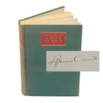 Lot 25 - Francis Ouimet Signed Ltd Edition 'A Game of Golf' 1932 Book #356/550