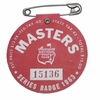 Lot 26 - 1963 Masters Badge - Jack Nicklaus' First Masters Win!