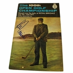 Lot 26 - 1971 Open Championship Program Signed by Lee Trevino - Royal Birkdale JSA COA