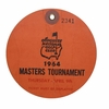 Lot 27 - 1964 Masters Ticket - Thursday April 9th - Arnold Palmer's 4th Masters Win