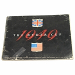 Lot 27 - 1949 Ryder Cup at Ganton GC Scarbourough, England Program-Ben Hogan Captain