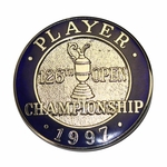 Lot 27 - 1997 Open Championship at Royal Troon Contestant Badge - Steve Jones Collection