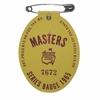 Lot 28 - 1965 Masters Badge - Jack Nicklaus Victory Number 2!