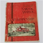 Lot 28 - 1932 US Amateur Championship at Baltimore CC Program - Ross Somerville