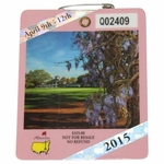 Lot 29 - 2015 Masters Tournament Badge - #Q02409 - Jordan Spieth Winner-The 1st We Offer!