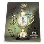 Lot 29 - Multi-Signed 1990 PGA Program at Shoal Creek Program - Seve, Stewart, Trevino, and others JSA ALOA