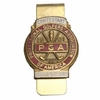 Lot 29 - Jack Fleck's 1961 PGA Championship Contestant Money Clip - Olympia Fields, Illinois