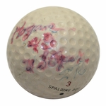 Lot 3 - Ben Hogan 1948 US Open at Riviera CC Championship Used Spalding Dot Golf Ball-Gifted to Ralph Hutchison