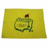 Lot 30  - Sam Snead Signed Undated Masters Embroidered Flag with Winning Years Inscription JSA COA