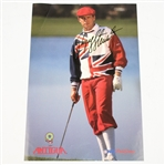 Lot 31 - Payne Stewart Signed Antigua Advertising Photo - NFL ProShop JSA ALOA
