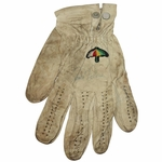 Lot 31 - Arnold Palmer Signed Game Used Golf Glove with Copy of Letter