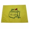 Lot 31 - Tom Watson Signed 2007 Masters Embroidered Flag JSA COA
