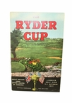 Lot 32 - 1957 Ryder Cup Great Britain vs United States Program - Lindrick Golf Club