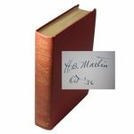 Lot 32 -'Fifty Years of American Golf' Book Signed by Author H. B. Martin 203/355