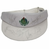 Lot 33 - Butler National Visor Signed by 8 Major Winners - Stewart, Seve, Watson, and more JSA COA