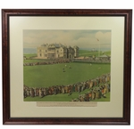 Lot 33 - 1930 Bobby Jones Putting on 18th Green at St. Andrews