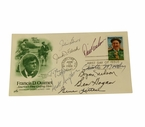 Lot 35 - 1988 Ouimet First Day Issue Cachet Signed by 9 U.S. Open Champs-Hogan, Nelson
