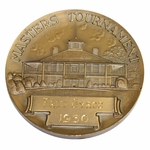 Lot 35 - 1950 Masters Tournament Bronze Medallion Players Gift - Fred Byron