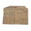 Lot 36 - Craig Wood, Bob Hope, and Bing Crosby Cut Sigs - 3 H.O.F. Golfers PSA DNA#Q04994