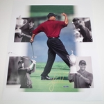 Lot 36 - Tiger Woods Upper Deck Authenticated 16x20 Autographed Photo