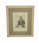 Lot 38 - Limited Edition #63/200 Bobby Jones Print From Macleod 1930 Etching Print by O&J Cubbage