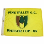 Lot 39 - 1985 Walker Cup at Pine Valley Golf Club Course Flown Flag - Rare