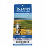 Lot 39 - Jordan Spieth Signed 2015 US Open at Chambers Bay Sunday Ticket JSA #Y87497