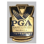 Lot 39 - Mark Brooks' 2014 PGA Contestant Badge/Money Clip-With Letter of Authenticity From Mark!