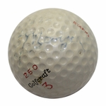 Lot 4 - Dick Mayer 1957 US Open Winner @ Inverness Champ. Used Golf Ball-Gifted To Ralph Hutchison