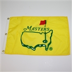 Lot 41 - Vintage Yellow Masters Undated Screen Flag