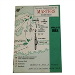 Lot 43 - 1964 Masters Spectator Guide - Arnold Palmer Wins 7th & Final Major