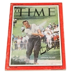 Lot 46 - Arnold Palmer Signed TIME Magazine May 2, 1960 JSA #P36666