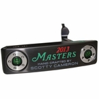 Lot 46 - Scotty Cameron Special 'Masters' 2013 Edition Newport 2 Commemorative Putter -#ed of 150