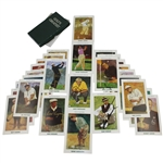 Lot 47 - 'Golf's Greatest' Cards with 9 Signed Including Snead, Hogan, others JSA ALOA